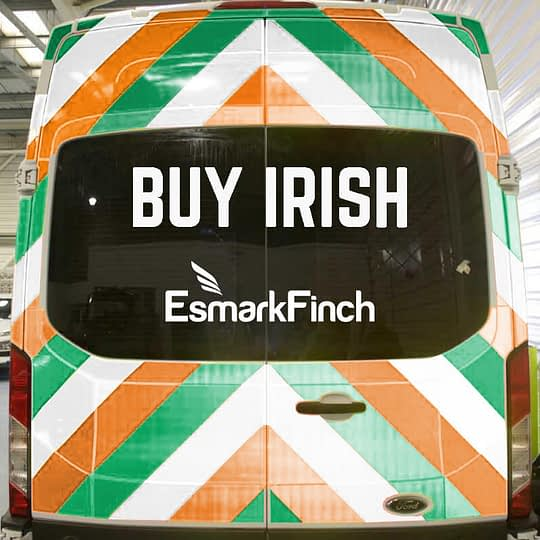 Need Reflective Chevron Markings? BUY Irish!