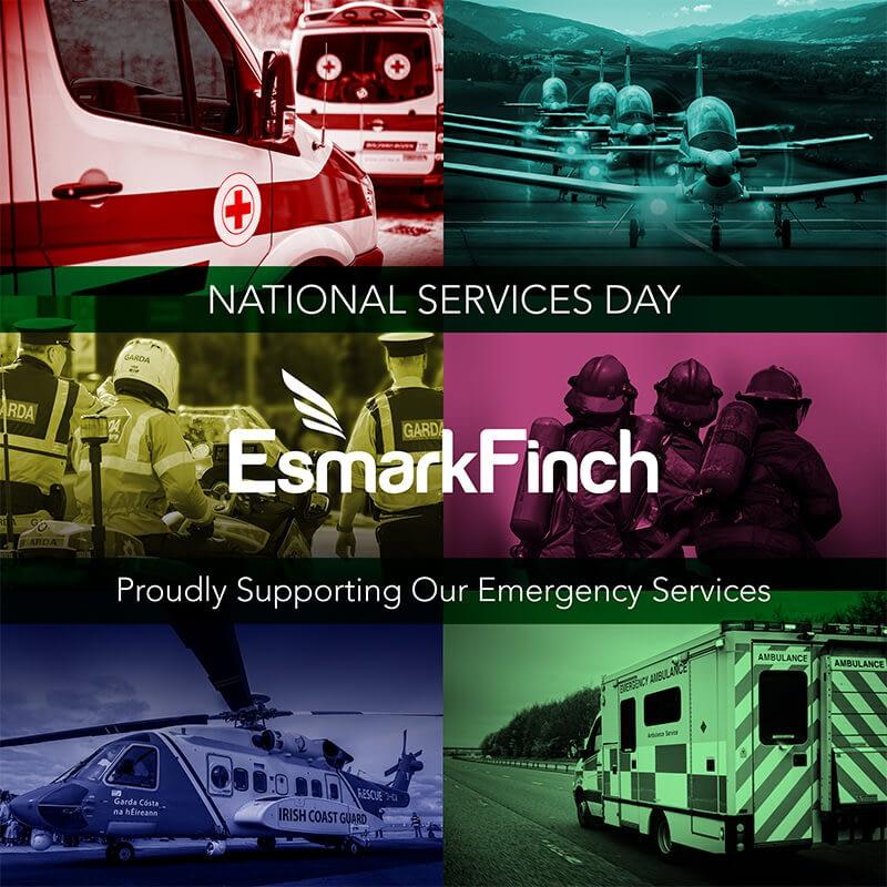 Esmark Finch support Irish Emergency Services