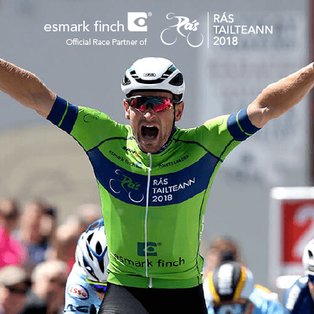 Esmark Finch Official Race Partners Of Rás Tailteann 2018