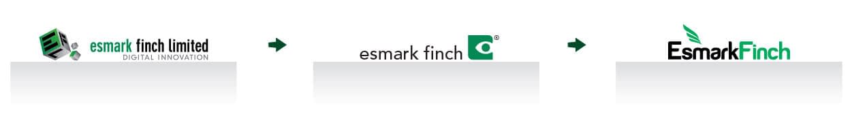 transition of Esmark Finch Logo