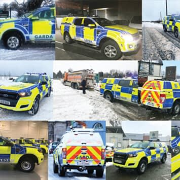 Vehicle Safety Markings Beast from the East Esmark Finch