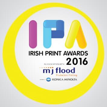 Digital Printing Ireland Irish Print Awards 2016 three categories