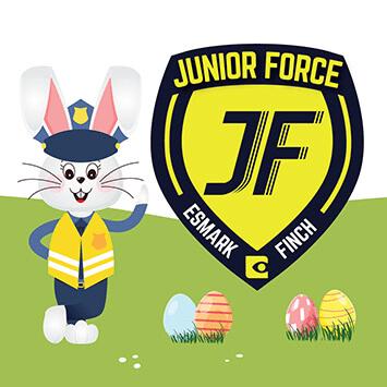 decals for vans Junior Force Easter Campaing Find the Golden Egg