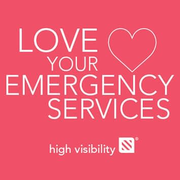 [Emergency Vehicle] Esmark Finch Love Your Emergency Services