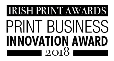 Innovative business awards at print awards 2018