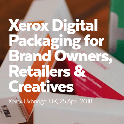 digitally printed packaging, Esmark FInch is part of the Xerox Digital Packaging Event
