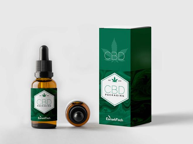 cannabis oil packaging