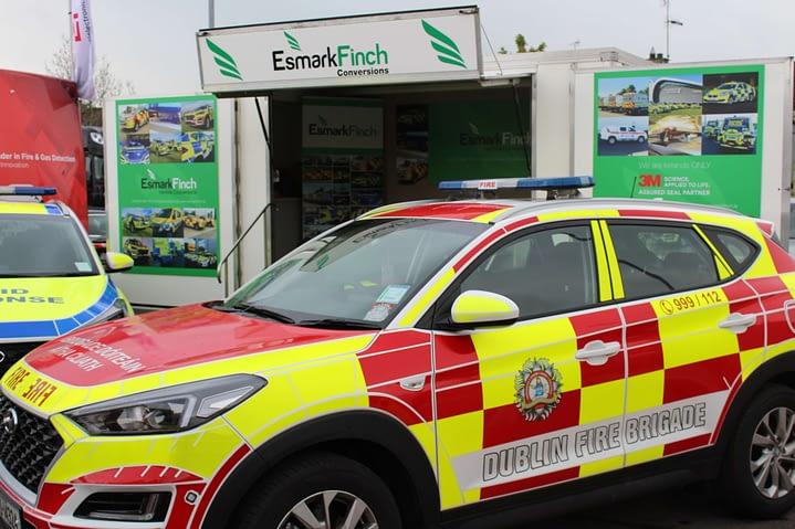 Dublin Fire Brigade Emergency Response vehicle converted by Esmark Finch