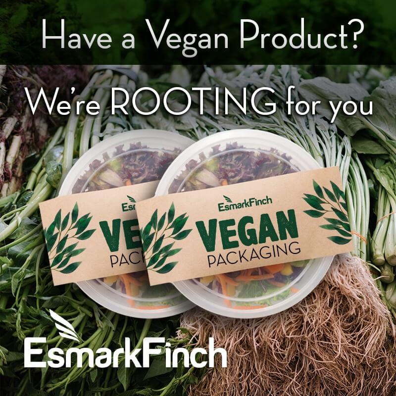 Esmark Finch supporting vegan brands
