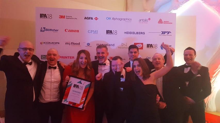 esmark finch team at awards