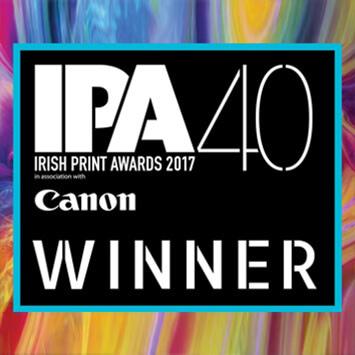 Irish Print Awards: Esmark Finch, Digital Printer of the Year 2017