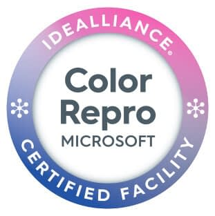 Esmark Finch Pass Microsoft Color Reproduction Certification Program